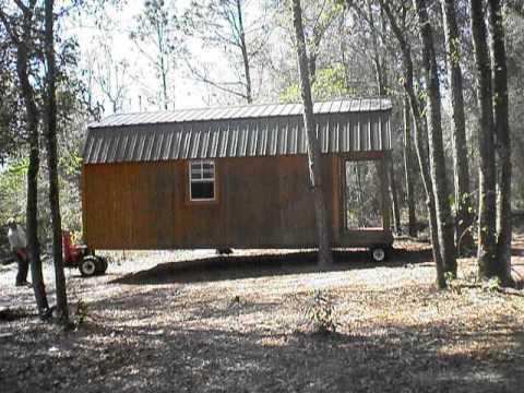 12x24 Lofted Cabin Youtube