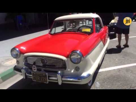 Nash Metro Owned By Sally Lacy Of Livermore At Wednesdays Little - Livermore car show
