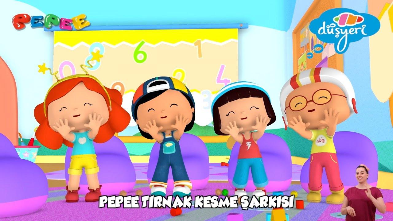 Pepee - Tırnak Kesme  Çocuk Şarkısı | Düşyeri