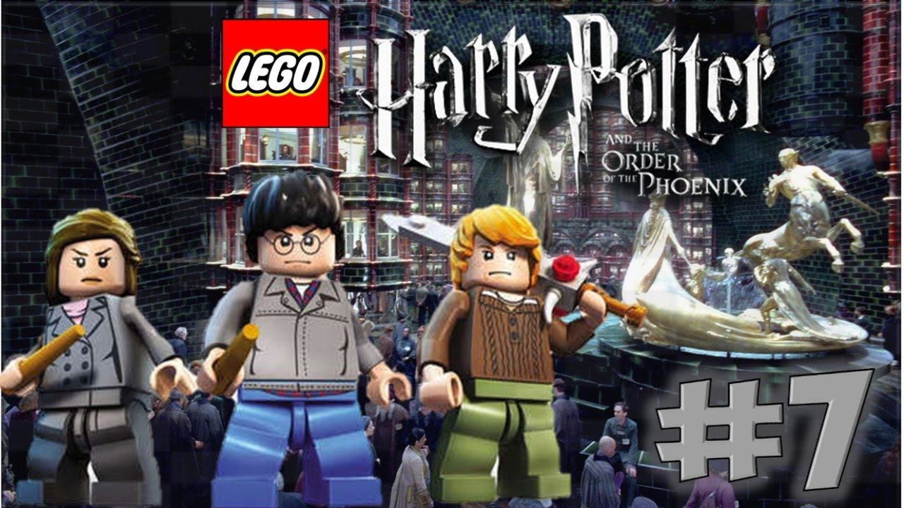Lego Harry Potter Years 5 7 The Order Of The Phoenix Year 5 Youtube