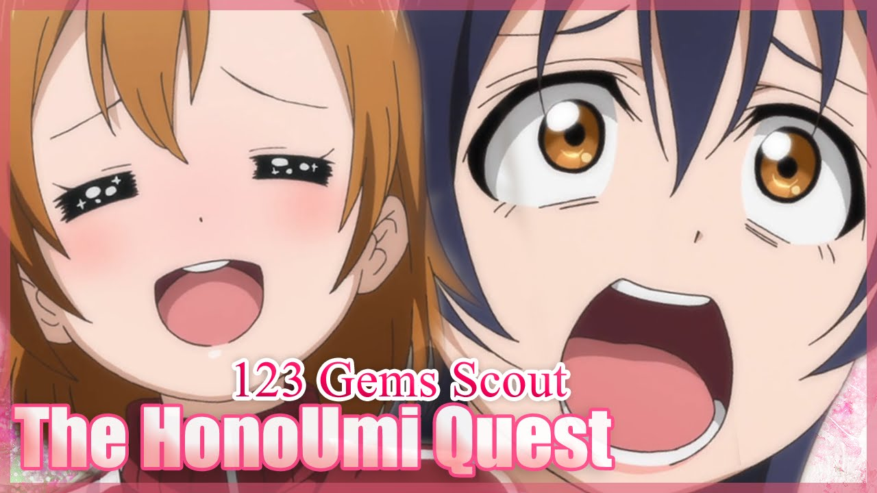 123 Fr love live! festival - honor scouting - 123 gems - 2nd years scouting