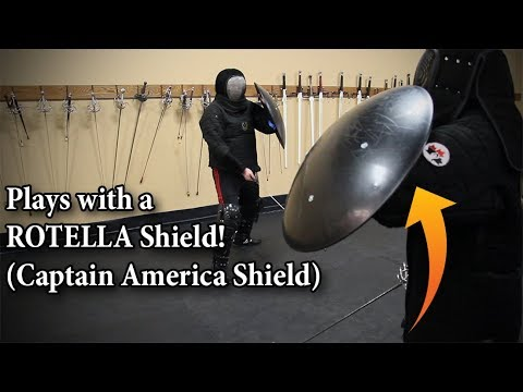 Plays with the Rotella Shield!