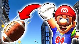 Extrem SCHWERE Trickshot Challenge🏈😵 [Für Profis] Mario Odyssey