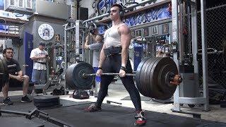 Sumo Deadlift - 550 lbs x 10 (250 kg)