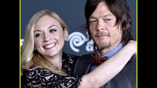 The Walking Dead's Norman Reedus and Emily Kinney Are Dating! daryl and beth