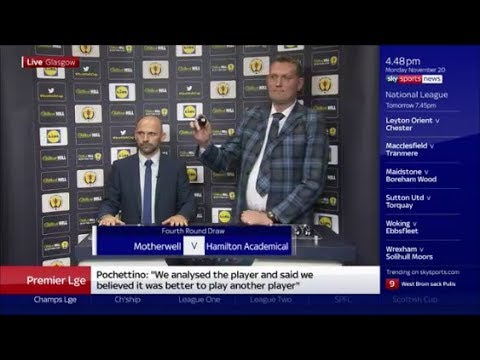 ***LIVE REACTION*** Scottish Cup Draw!!!!