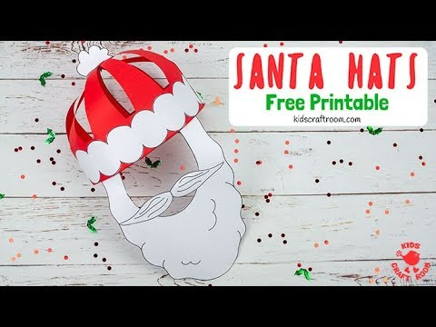 Paper Santa Hat Craft