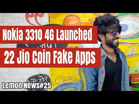 LN#25 | Nokia 3310 4G Launched,22 Jio Coin Fake Sale Apps,Vivo Xplay7,Vodafone 198 1.4 Gb Daily