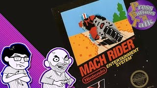 Mach Rider: Trying to Play This Game - Press Buttons