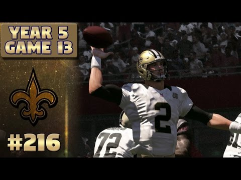 Saints @ Bucs Highlights (S5,G13) | Madden NFL 17 New Orleans Saints Franchise Ep. 216