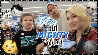 Tiny but Mighty Vlog: follow us @ Walmart, late night OOTD, & teething   Real Bride Of Chucky