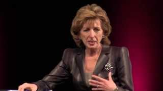 Two generations, one dialogue: Chancellor Linda Katehi and Helena Tseregounis at TEDxUCDavis