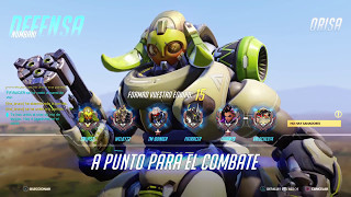 Overwatch: Competitivo en directo. ROAD TO PLATINO EP. 04