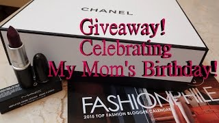 CLOSED-Giveaway!  Happy Birthday Christine! Thankful For My Mother