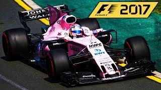 F1 2017 GAME CAREER MODE TEAM REVEALED!