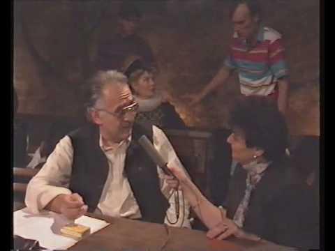 interview  Cleopatra Lorintiu avec Eugen Todoran sur Don Carlos de Fr Schiller