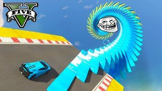 GTA V Onlie: A CORRIDA MAIS TROLL do GTA!!! (LEVEI NC)