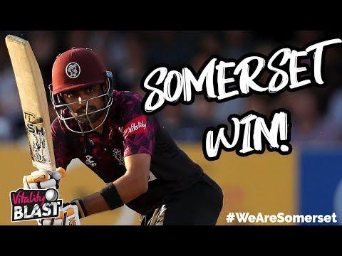 HIGHLIGHTS: Babar Azam and Roelof van der Merwe see Somerset to victory!