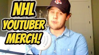 *NEW* NHL YouTuber Merch Unboxing! | Auddie James