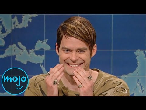 Top 10 Breaking Character Moments on Saturday Night Live