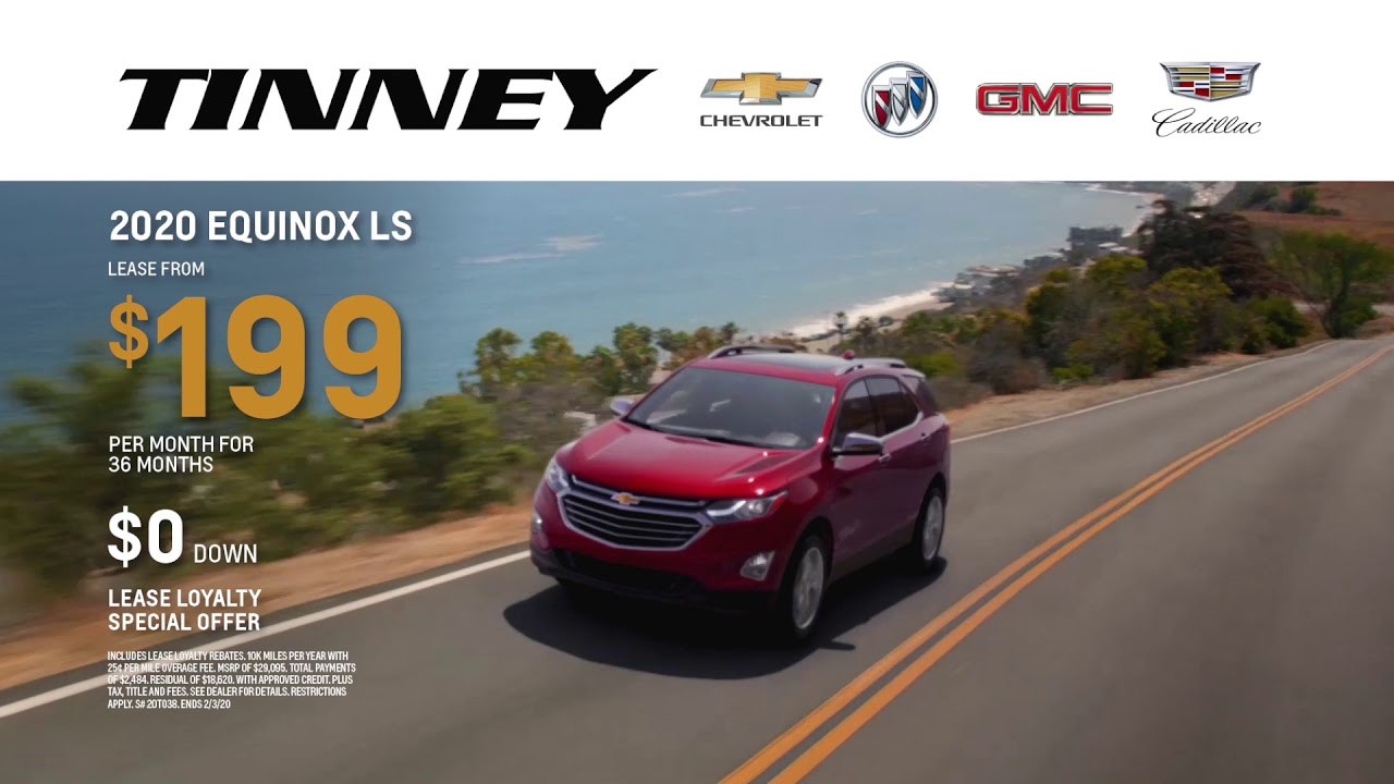 2020 Chevy Equinox Lease Deals And Offers At Tinney Automotive