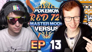 CAN PAT CATCH UP?? - Pokemon Red 721 MASTER MODE Versus! Episode 13