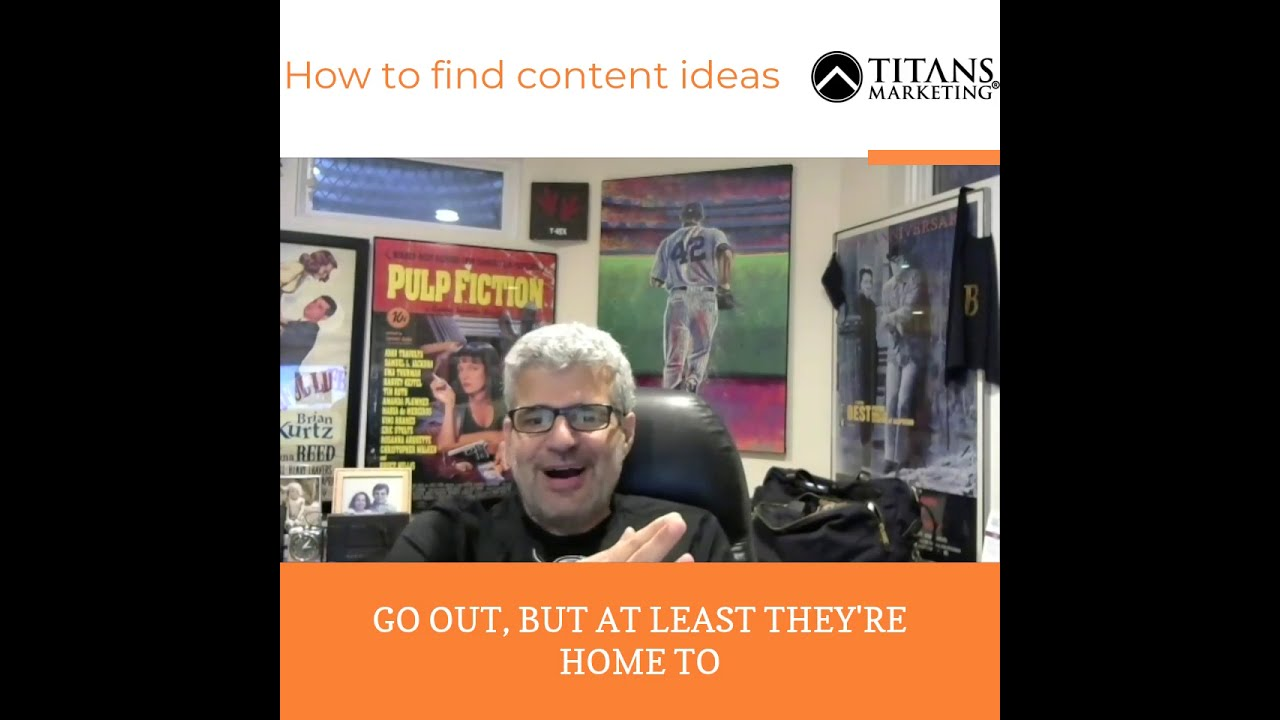 How to come up with content ideas?