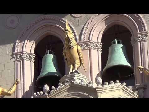 Campanile del Duomo di Messina; spettacolo delle ore 12