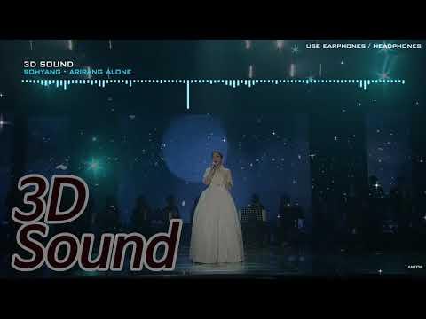 [3D Sound L/R] Sohyang (소향) - Arirang Alone (홀로아리랑)  🎧