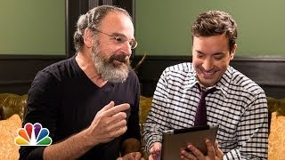 "Mandy Patinkin Teaches Jimmy Fallon ""Candy Crush"" (Late Night with Jimmy Fallon)"