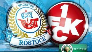 Interviews nach dem Pokalspiel gegen den 1.FC Kaiserslautern
