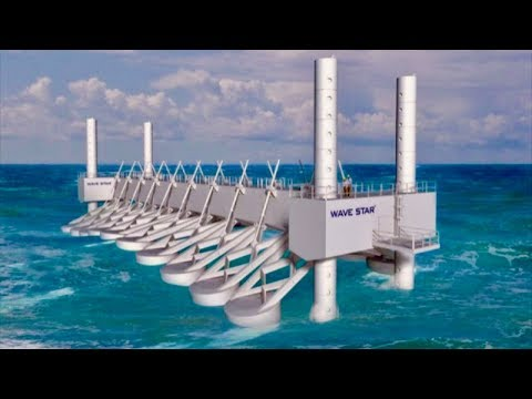 Ocean Power Plant Generates Energy From Waves - Unlimited Ch