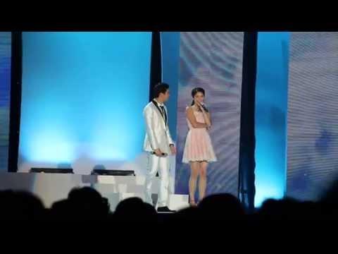 ไมค์ ภัทรเดช โซฟี่ อัปสรสิริ  @ งาน Young Model Contest 2014 09/08/2014