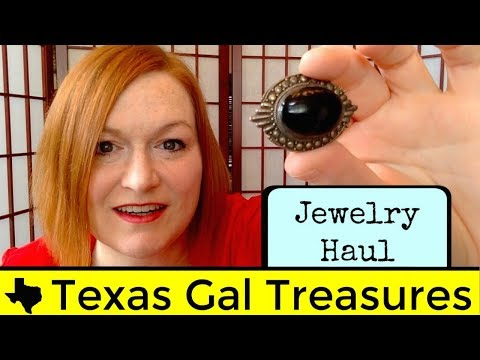 Jewelry Haul from a Garage Sale to Sell on Ebay and Etsy - What Jewelry Did I Find at Garage Sales?