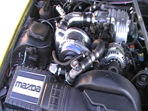 Supercharged FC RX-7 5PSI