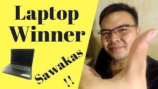 Laptop Giveaway FINAL Winner Redraw - May winner na!!!