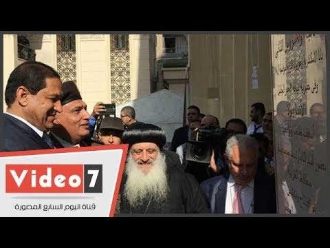 عودة الروح لكنيسة ماجرجس بطنطا بعد 7 أشهر من تفجيرها  - 16:22-2017 / 12 / 2
