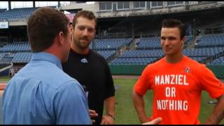Video: Full interview with Chiefs sluggers Zack Walters and Steven Souza Jr.