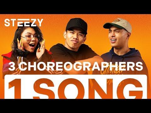 3 Dancers Choreograph To The Same Song - Feat. Carlo Darang, Isidro Rafael, Junna Yagi