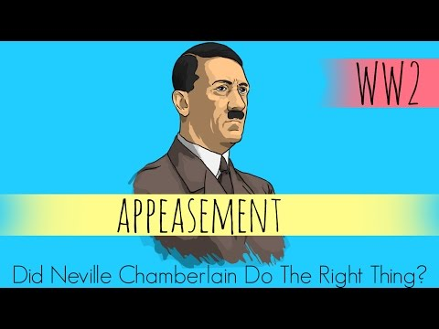 Appeasement WW2 - Did Neville Chamberlain Do The Right Thing? - GCSE History