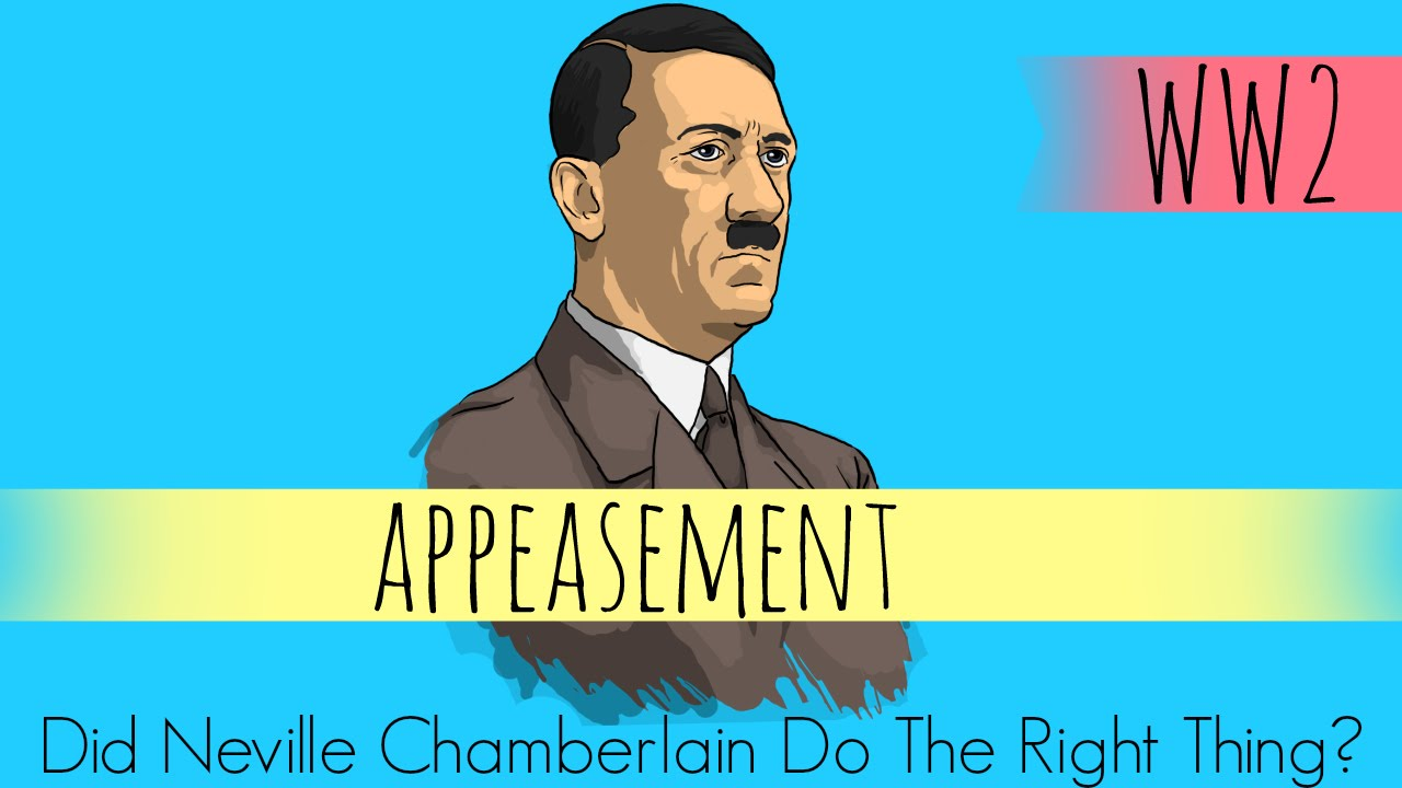 views to appeasment The policy of appeasement - this essay analyses the responsibility of neville chamberlain and his highly controversial appeasement theory which hypothetically prevented the outbreak of the second it was described as the war to end all wars reinforcing the view that it was a.
