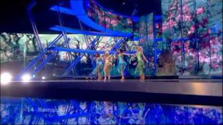 Eurovision 2009 Semi Final 1 14 Romania Elena The Balkan Girls 169 HQ