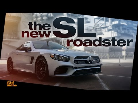 California Cruising with the new Mercedes SL 450 and SL 63 AMG (German/English)