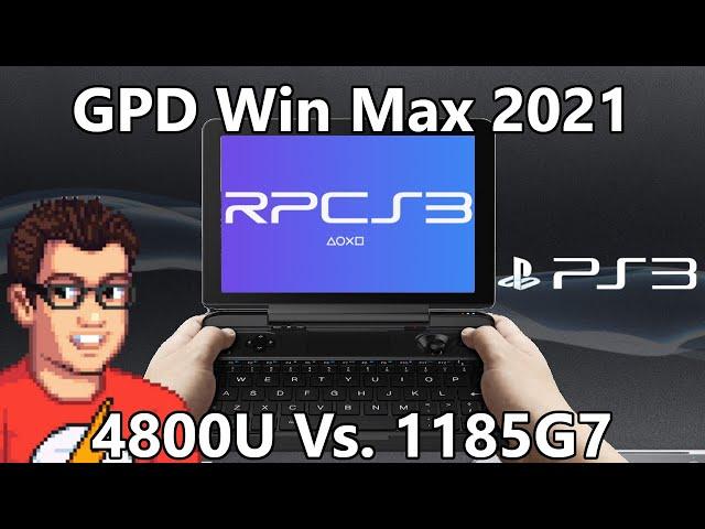 GPD Win Max 2021 - PS3 Emulation RPCS3 - God of War 3 / Demon Souls / Skate 3 / Ratchet & Clank