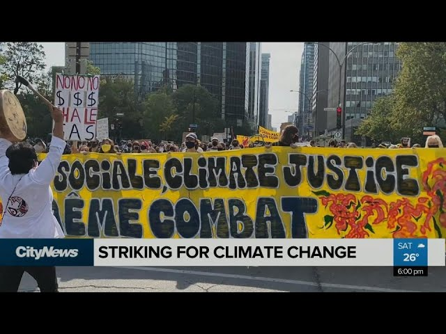 Striking for climate change