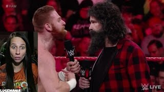 WWE Raw 12/12/16 1000 Eva Maries for Sami Zayn Trade