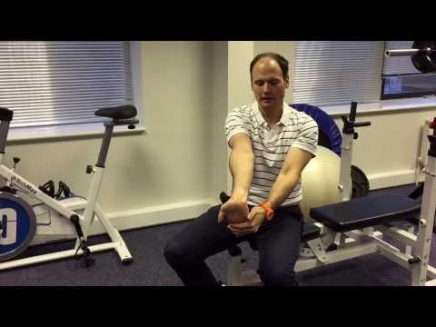 Wrist Extension & Flexion exercises.