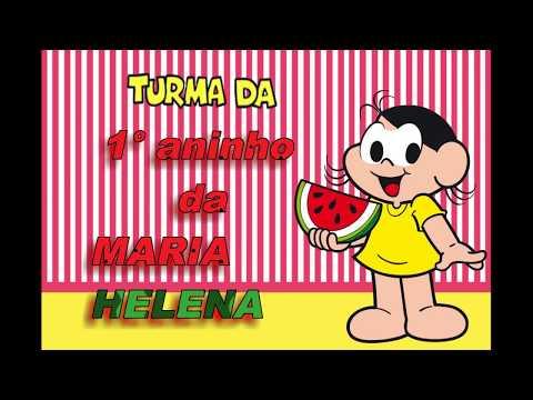 Retrospectiva animada da Maria Helena - 1° aninho - MAGALI