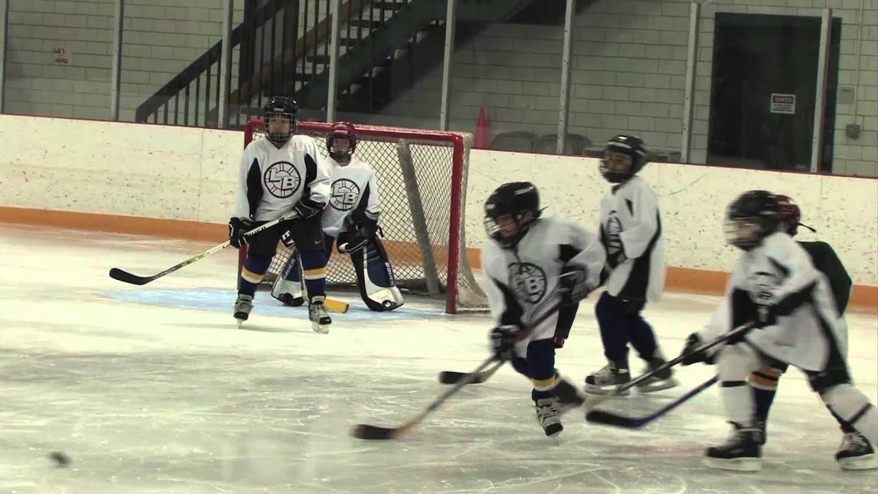 Kids Hockey Game 2007 Youtube