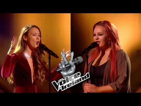 Ciara Freeman Vs Jasmine Kavanagh - Hello - The Voice of Ireland - Battles - Series 5 Ep8